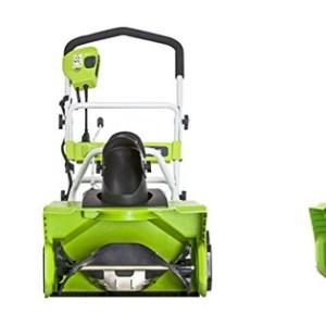 GreenWorks Amp Snow Thrower