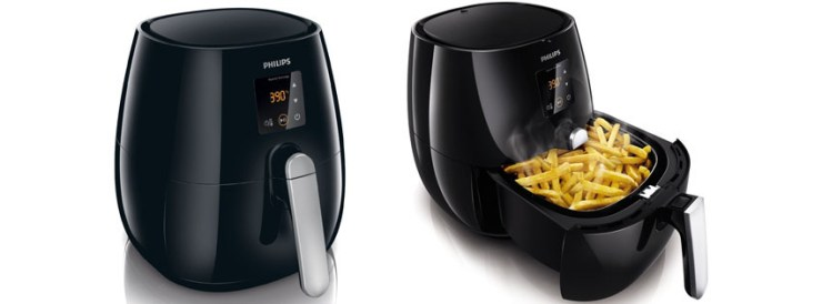 Philips HD Digital Air Fryer with Rapid Air Technology Black