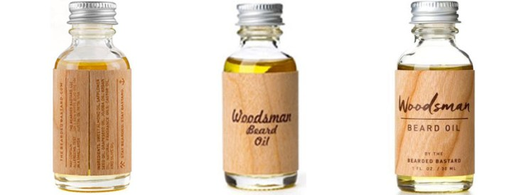 The Bearded Bastard Woodsman Beard Oil