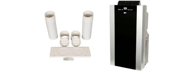 Whynter BTU Dual Hose Portable Air Conditioner ARC S