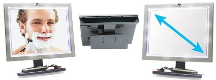 ToiletTree Deluxe LED Fogless Shower