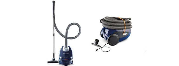 Electrolux Ergospace Bagged EL A Canister Vacuum