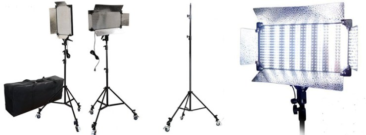 LimoStudio LED lighting Kit AGG
