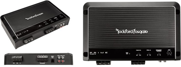 Rockford Fosgate Prime Watt Class-D Amplifier
