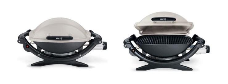 Weber Q Portable BTU Liquid Propane Gas Grill