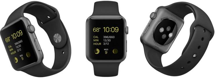 Apple Watch Sport 42mm Space Gray Case
