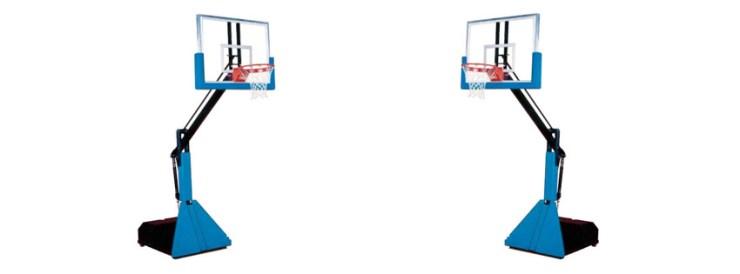 Glass Max Basketball Hoop