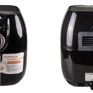 Homeleader® Oil - less Air Fryer Low fat more healthy, Black