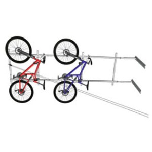 Horizontal Bike Lift Motorized