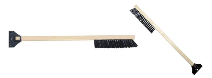 Mallory Wood Snow Brush