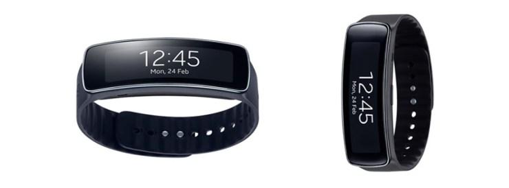 Samsung Gear Fit Tracker