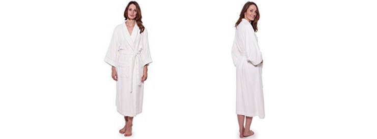 Texere Womens Terry Cloth Bathrobe Robe