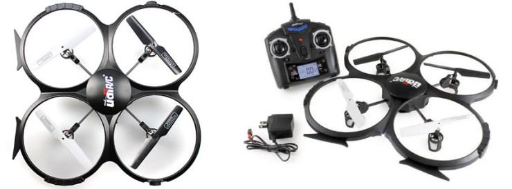 UDI U818A 2.4GHz 4 CH 6 Axis Quadcopter