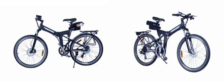 X-Treme Scooters Folding Mountain E-Bike