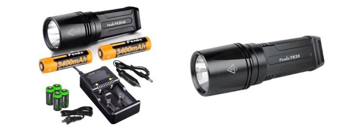 Fenix TK tactical flashlight