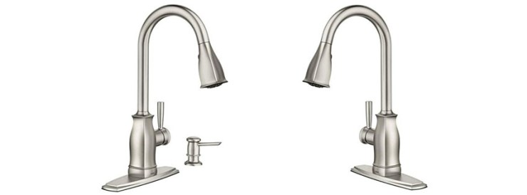 Hensley Single-Handle Pull-Down Sprayer Faucet