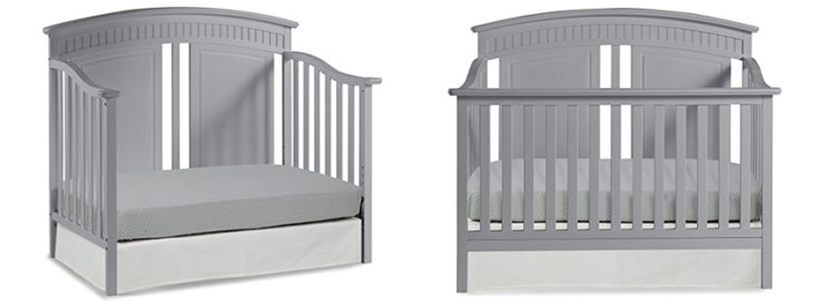 DaVinci Jayden Convertible Crib with Toddler Rail