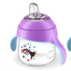 Philips Avent My Penguin Sippy Cup Blue Ounce Stage