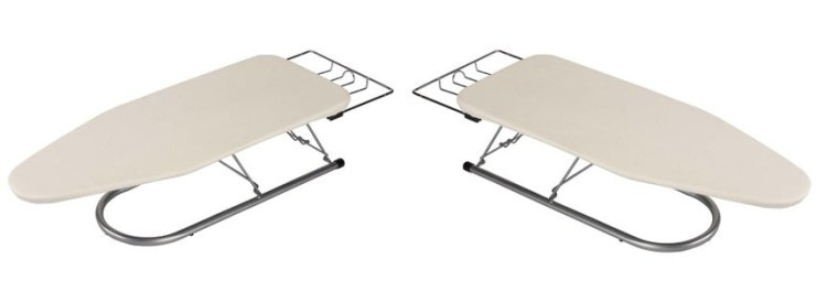 Household Essentials Steel Table Top Small Ironing Board