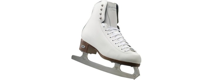 Riedell Diamond White Ladies Skate