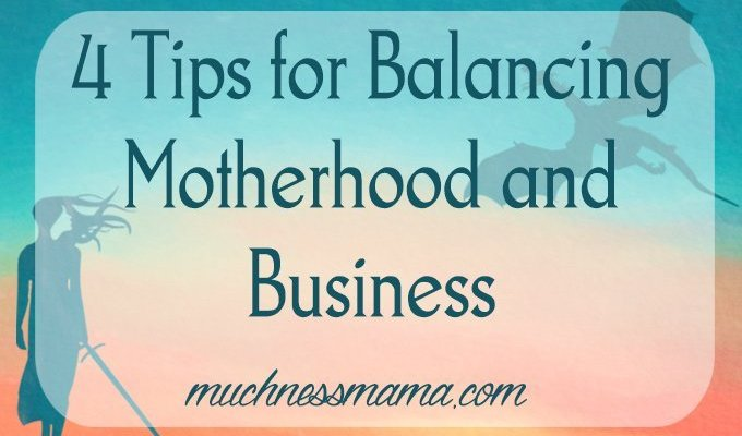 Ducks in a Row- 4 Tips for Balancing Motherhood and Business