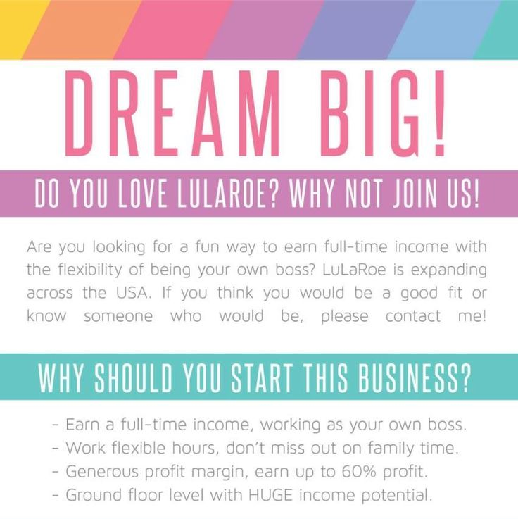 Become a LuLaRoe Retailer| LuLaRoe investment | cost to be a LuLaRoe retailer | own your own business