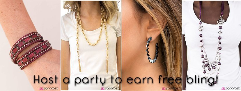host a paparazzi party| free paparazzi accessories |women's fashion accessories | jewelry