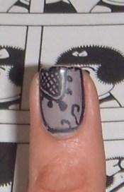 Nail art, glifos mayas