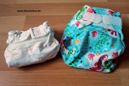 Newborn Windeln Größenunterschied 1