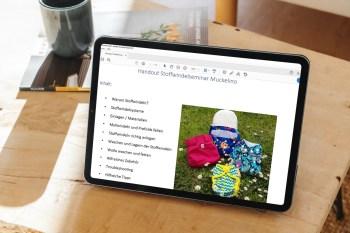 Inhaltsverzeichnis Stoffwindel Reader