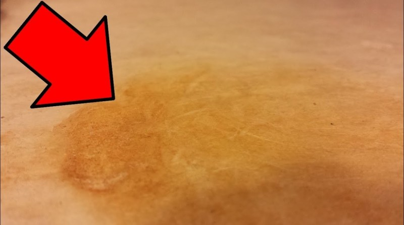 Clean countertop
