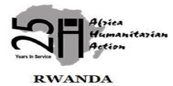 2 Job Positions at AHA Rwanda: (Deadline 5 October 2021)