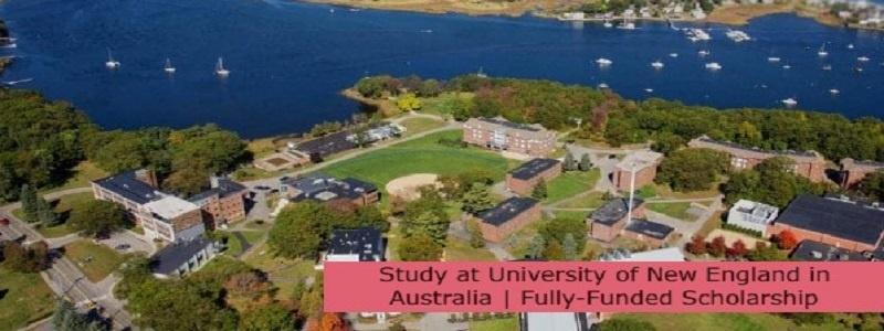 Study at University of New England in Australia   Fully-Funded Scholarship: (Deadline 30 September 2021)