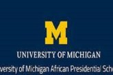 University of Michigan African Presidential Scholars (UMAPS) Program: (Deadline 15 October 2021)