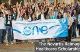 The Novartis Reimagining Healthcare Scholarship 2022: (Deadline 12 September 2021)