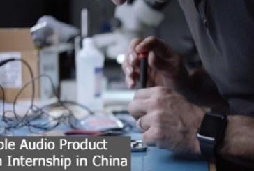 Apple Audio Product Design Internship in China: (Deadline 30 September 2021)