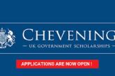 Applications for 2022/2023 Chevening Scholarships are now open: (Deadline 2 November 2021)