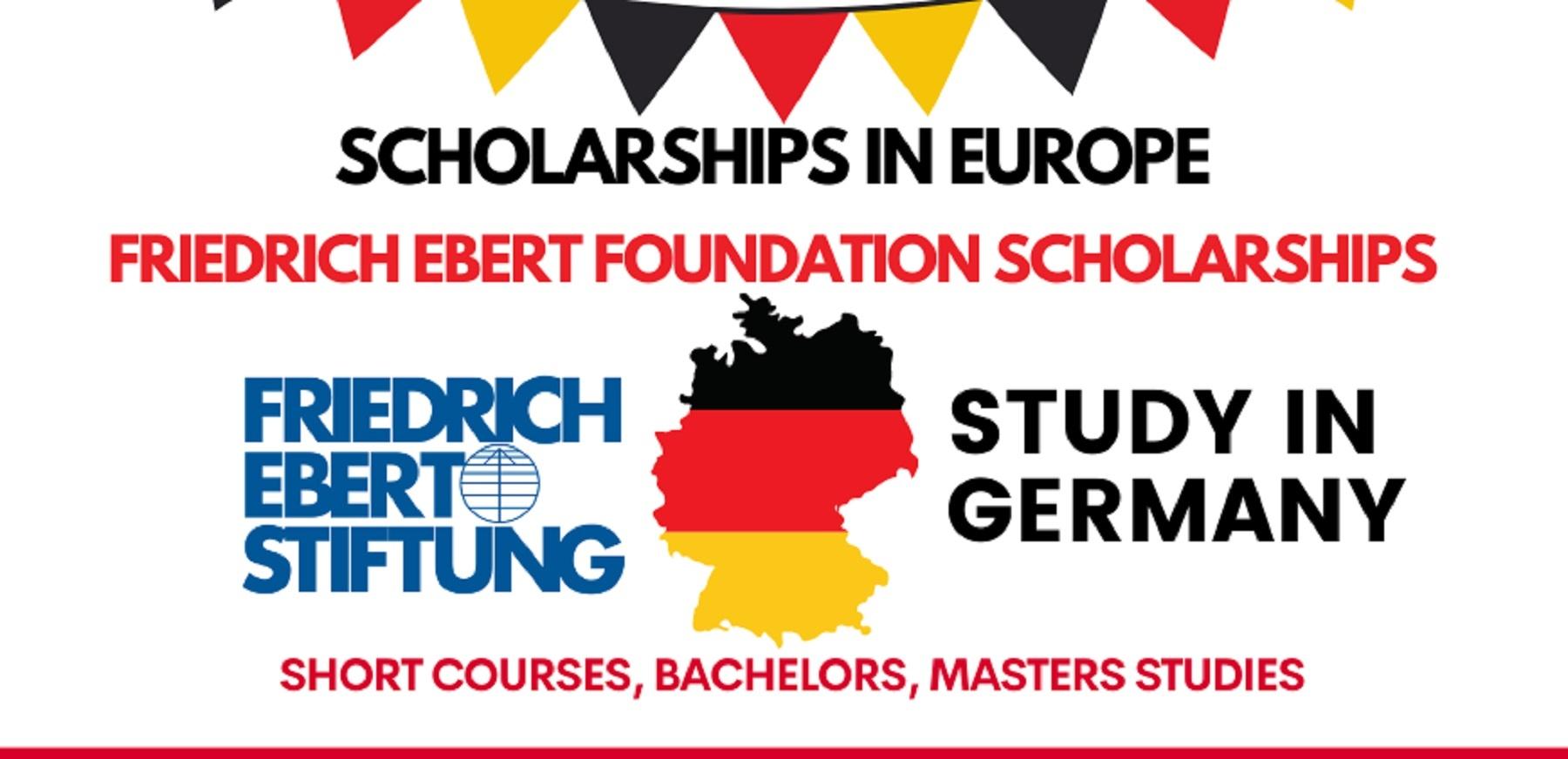 DAAD/Friedrich Ebert Foundation 2021 Scholarships (Germany)