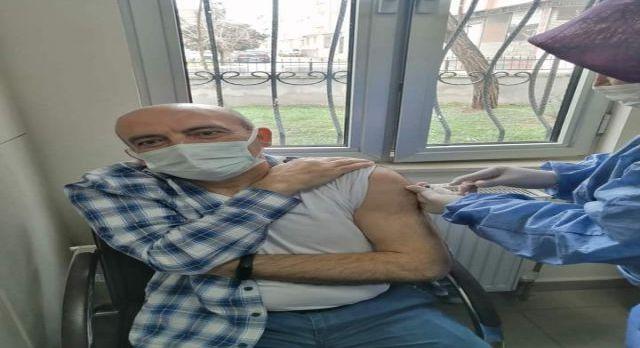 Kilis'te sağlıkçılar aşılanmaya başladı