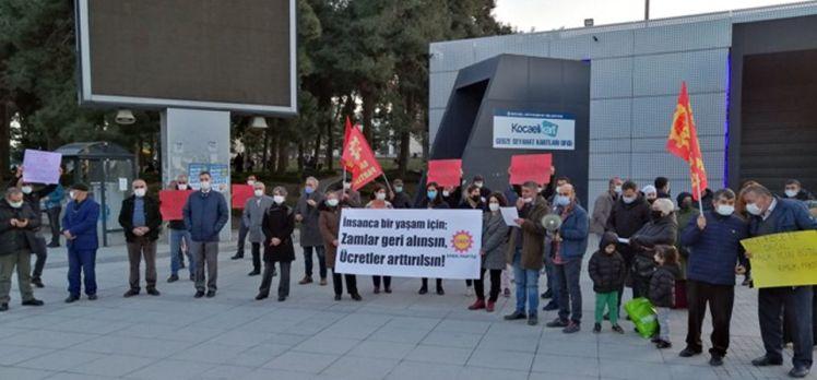 EMEP Kocaeli Gebze'den hükümete seslendi