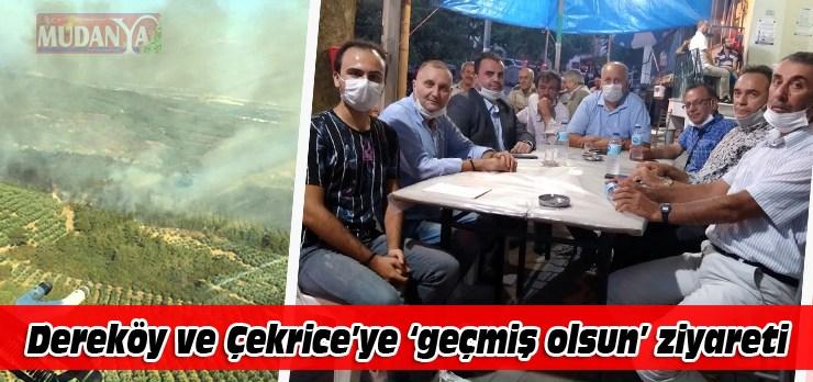 İYİ Parti'den yangın sonrası geçmiş olsun ziyaret