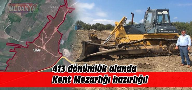 Hasköy'de mezarlık tepkisi!