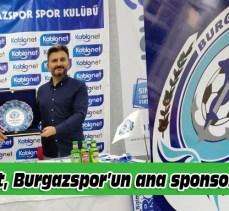 Kablonet, Burgazspor'un ana sponsoru oldu