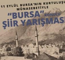 Bursa'da ödüllü şiir yarışması