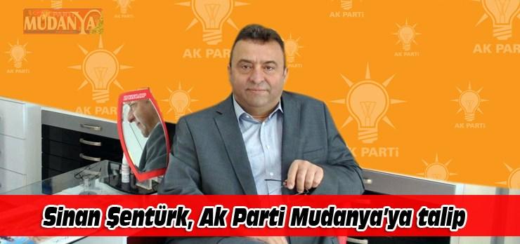 Sinan Şentürk, Ak Parti Mudanya'ya talip