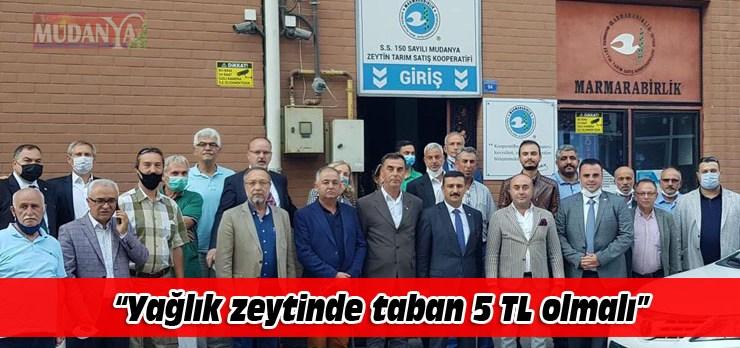 Türkoğlu, zeytin üreticisinin sesi oldu