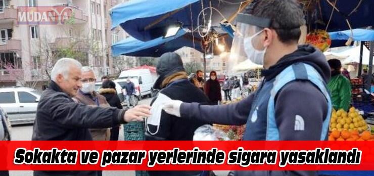 Sokakta sigara içmek yasaklandı!