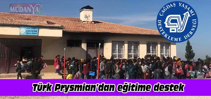 Türk Prysmian Kablo'dan eğitime destek