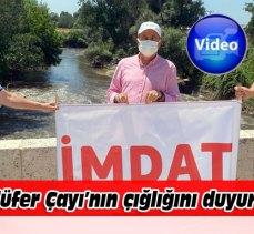 Bursa'da CHP'li Kemal Demirel, Nilüfer Çayı'nın feryadını duyurdu