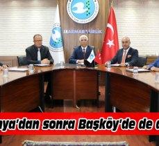 Marmarabirlik Başköy'de görev değişimi